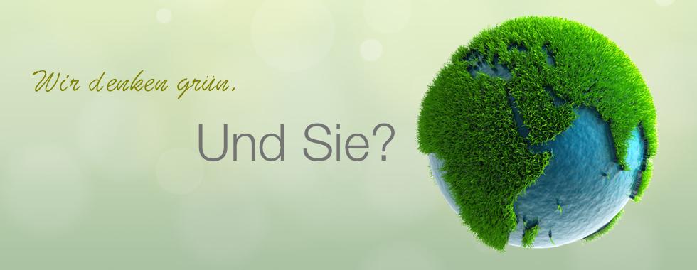 Wir denken grün.